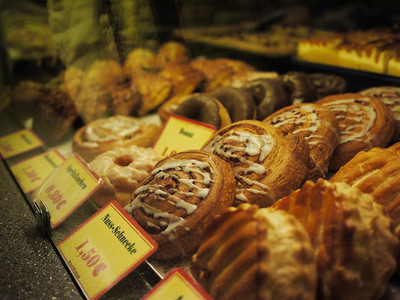 Tasty pastries at the breakfast place next door