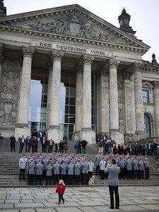 Stopped by the Reichstag