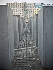 Some lucky soul gets to see Holocaust museum out of their windows...