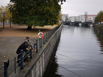 Zoya went in to inspect the museum. I was too sick so headed back home. Some guys are meanwhile fishing.