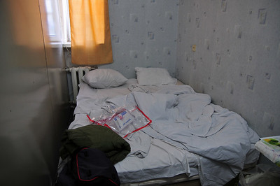 Moishe relied on Lonely Plant recommendation to book a hotel. Not the first time this particular guide proves to be absolute shit. The room cost us $14 but the prospect of sharing this bed was certainly worth it.