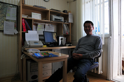 Hotel owner. Nice guy - speaks English and Russian.