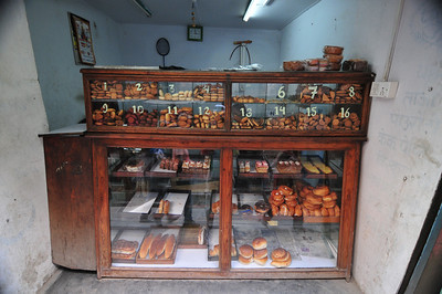 Bakery. Love the numbers - don't have to explain which croissant you want