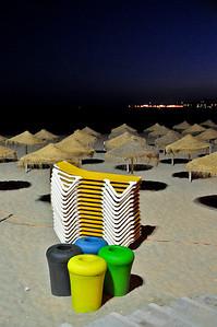 Пляж вечером