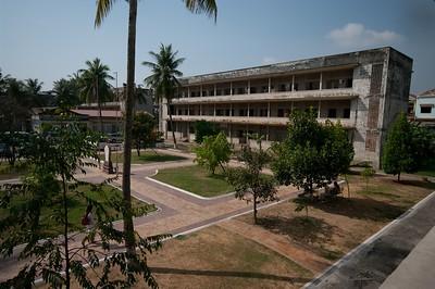 Phnom Penh S.21 genocide museum