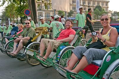 Phnom Penh cyclo tour