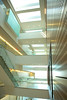 Multilevel Atrium Inside the CTRC in Downtown Buffalo<br /> <br /> Photograph: Douglas Levere