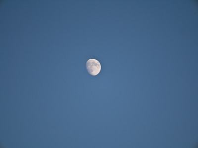The moon at 175mm maximum zoom.