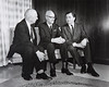 Left to right Clifford C. Furnas, T.R. McConnell and Martin M. Meyerson.  Photograph ca. 1966.<br /> <br /> Photographer: Unknown<br /> <br /> Photographer: Douglas Levere © UB Archives<br /> <br /> Please contact University Archives at lib-archives@buffalo.edu for permission to use this image.