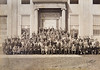 UB Students in front of Foster Hall ca. 1921<br /> <br /> Photographer: Koeppen © UB Archives<br /> <br /> Please contact University Archives at lib-archives@buffalo.edu for permission to use this image.