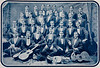 UB Banjo Club ca. 1890<br /> <br /> Photographer: Ronley The Currier Express Buffalo © UB Archives<br /> <br /> Please contact University Archives at lib-archives@buffalo.edu for permission to use this image.