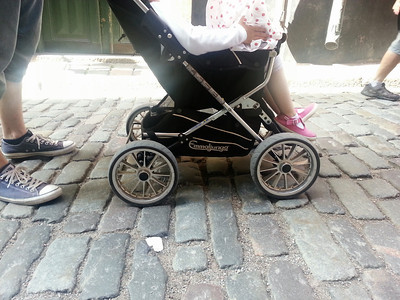 So many cool prams in Stockholm!