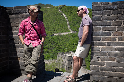 That's some wall we're standing on here