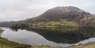 Panorama of  Rydal Water