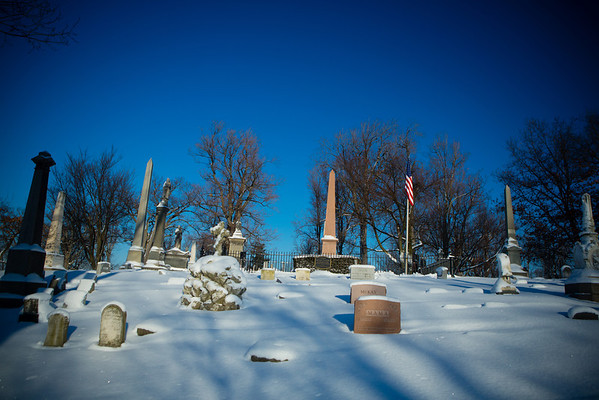 49th Annual Millard Fillmore Commemoration Event at Forest Lawn. Memorial Address by Claude Welch, SUNY Distinguished Service Professor<br /> <br /> Photographer: Douglas Levere