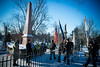 Presentation of Colors at the 49th Annual Millard Fillmore Commemoration Event at Forest Lawn. Memorial Address by Claude Welch, SUNY Distinguished Service Professor<br /> <br /> Photographer: Douglas Levere