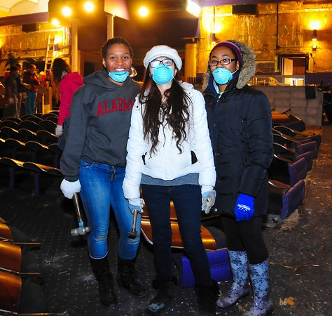 Photos from Saturday of Service in 2014<br /> <br /> Photographer: Steve Morse