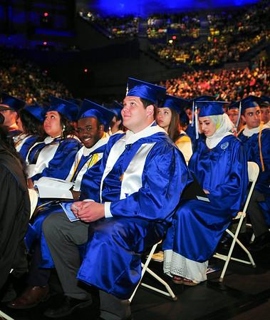 Photos from the 2014 Undergraduate Commencement Ceremonies<br /> <br /> Photographer: Steve Morse