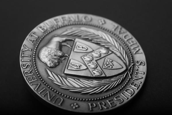 University at Buffalo President's Medal<br /> <br /> Photograph: Douglas Levere
