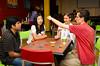 International Tea Time in the Intercultural & Diversity Center, Student Union<br /> <br /> Photographer: Ariel Namoca