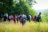 International Student and Scholar Services (ISSS) takes its students on a hike through Zoar Valley<br /> <br /> Photographer: Ariel Namoca