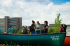 Second round of Canoeing on Lake La Salle, North Campus during Warm Weather Wednesdays 2014<br /> <br /> Photographer: Ariel Namoca