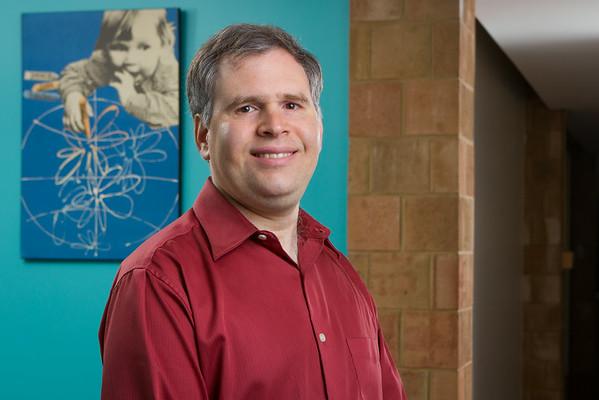 Portrait of Anthropology Assistant Professor Frederick Klaits in Ellicott<br /> <br /> Photographer: Douglas Levere