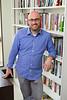 Portrait of History Assistant Professor, Adam Malka in his Park Hall office<br /> <br /> Photographer: Douglas Levere