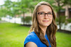 Portrait of Graduate Student in Clinical Psychology, Lisa Germeroth by Park Hall<br /> <br /> Photographer: Douglas Levere