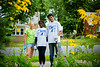Heights Resident Linda Garwol, Bisi Aiyelabowo, Rishabh Mathur. Day of Caring with the School of Management in the University Heights<br /> <br /> Photographer: Douglas Levere