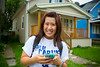 SOM Student Li In Wong. SOM Day of Caring with the School of Management in the University Heights<br /> <br /> Photographer: Douglas Levere