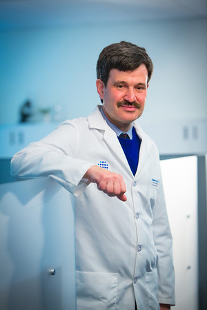 Portrait of Dr. Andrew Talal, Chief of Professor and Chief, Gastroenterology, Hepatology, and Nutrition in the CTRC<br /> <br /> Photograph: Douglas Levere