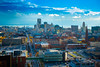 Downtown Buffalo Skyline from the Roof of Buffalo General Hospital<br /> <br /> Photographer: Douglas Levere