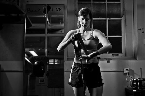 14270 Boxing Club, Wendy Casey, At Buffalo, Clark Gym