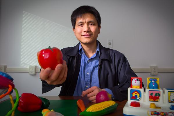 15021 Pediatrics, Xiaozhong Wen, Portrait, Farber Hall
