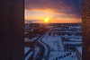 Sunset on North Campus<br /> <br /> Photographer: Douglas Levere