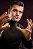 Portrait of Arun Vishwanath, associate professor of communication<br /> <br /> Photographer: Douglas Levere