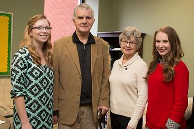 Cartwright Scholarship Recipients