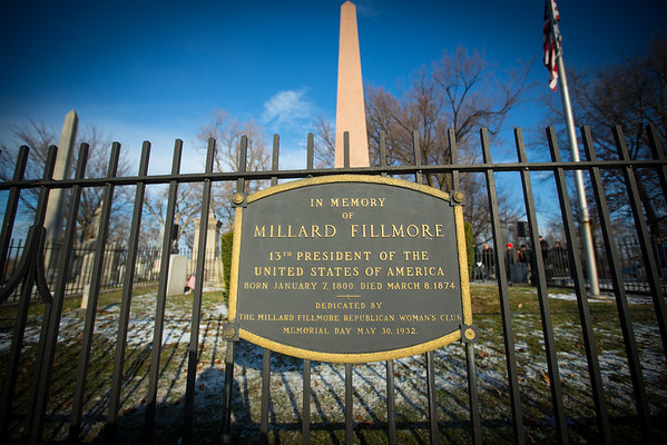 Millard Fillmore Commemorating Event at Forest Lawn Cemetery<br /> <br /> Photographer: Douglas Levere