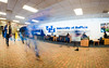 Long exposures of students in Capen Hall on North Campus<br /> <br /> Photographer: Chad Cooper