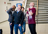 Engineering students participate in an Egg Drop contest during Engineering Week on North Campus<br /> <br /> Photographer: Chad Cooper