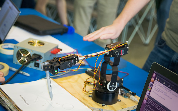 16009CC Engineering Week, Robo Picasso, Student Union