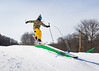 Students skiing and snowboarding during a trip to Holiday Valley resort<br /> <br /> Photographer: Chad Cooper