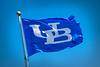 Flag with interlocking UB logo