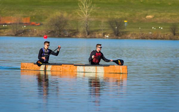 16017CC Engineering, Concrete Canoe, Lake LaSalle