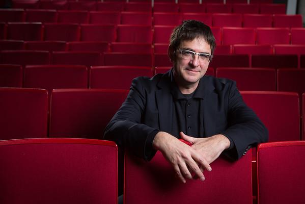Franck Bauchard, Director of the UB Arts Management Program in Slee Hall<br /> <br /> Photographer: Douglas Levere