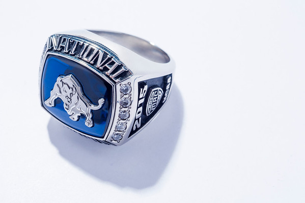 Jon Jones' NCAA Championship Ring<br /> <br /> Photographer: Douglas Levere