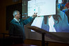 Artificial Intel & Learning Class with Communications Professor Joseph Woelfel in Clemens Hall<br /> <br /> Photographer: Douglas Levere