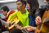 Guitar Class  with Sungmin Shin in Barid Hall<br /> <br /> Photographer: Douglas Levere