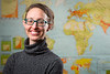 Portrait of Abigail Cooke, Assistant Professor in the Department of Geography in Wilkeson Hall<br /> <br /> Photographer: Douglas Levere